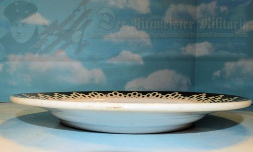 AUSTRIA / GERMANY - PLATE - PATRIOTIC - COMMEMORATING THE GERMAN AND AUSTRIAN ALLIANCE 1914-1916 - Imperial German Military Antiques Sale