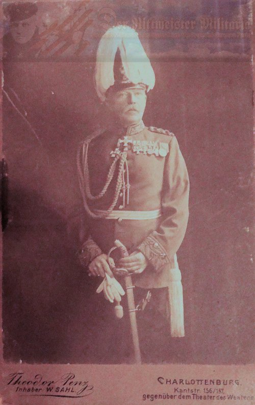 PRUSSIA - CABINET PHOTOGRAPH - GENERAL - Imperial German Military Antiques Sale