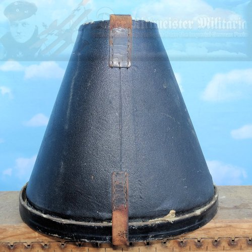 GERMANY - PICKELHAUBE/SPIKE HELMET TRAVEL/STORAGE CASE - SHORT SIZE - WITH BOTTOM