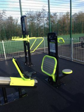New outdoor gym 2014