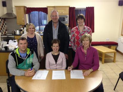 Sillees Defib support group committee