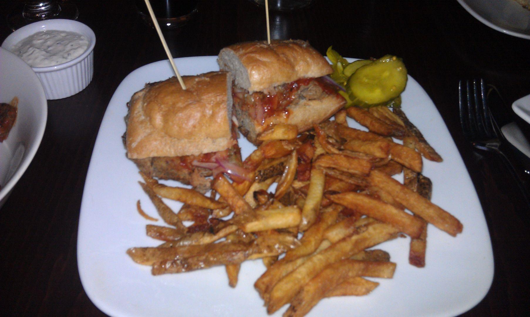 DerryX Dines Late Night Capital City Gastropub Meal