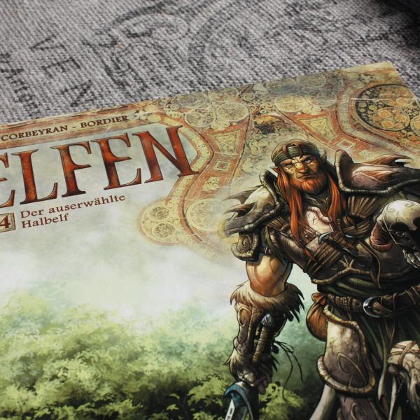 Cover der Graphic Novel Die Elfen Band 4
