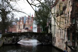 Brügge hat mehr als 60 Brücken