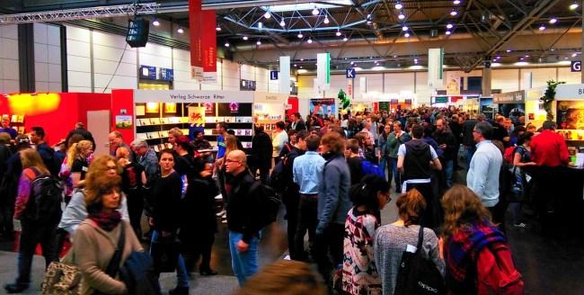 Viel los auf der Leipziger Buchmesse