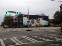 Atlanta 2015, USA: Downtown Atlanta zieren viel Graffity.