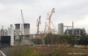 Atlanta 2015, USA: Neubau des Atlanta Falcom American Football Arena.