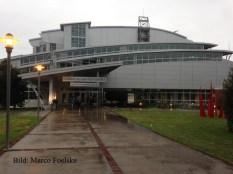 2015: Aussenansicht des Aquatic Centres von 1996.