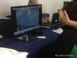 Atlanta, 2015: Videoanalyse bei den Nat. Junioren Wintermeisterschaften.