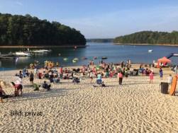 17.9.2016, Atlanta: Swim accross America event - open water.