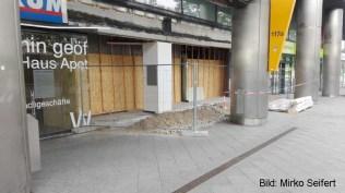 DM 2017: Ladenpassagen vor dem S-Bahnhof.