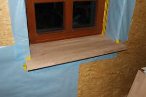 Fensterbretter Holz Dunkelgrau Fix Fertig Haus Fensterbank Innen
