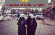 Dersim Meclis Girişimi  /Tahsin TEKİN