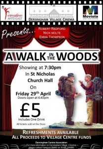 poster for film walk in the woods