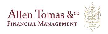 Allen Tomas logo