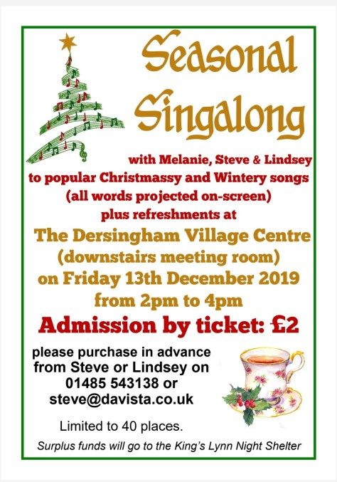poster for Seasonal Singalong