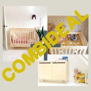 Ledikant + commode + box