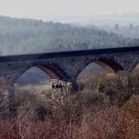 Viaduct,on the Derwent Walk.