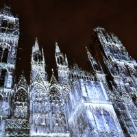 Rouen Cathedral of Light Festival