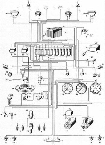 Porsche 356a Wiring Diagram, Porsche, Get Free Image About