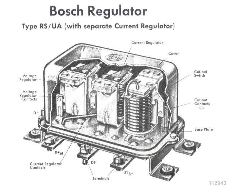 Bosch Electrical Parts for 356 Porsches