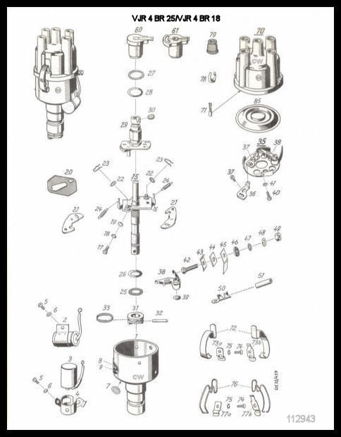 Bosch Electrical Parts for 356 Porsches