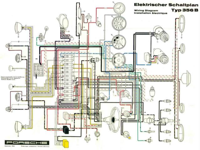 porsche wiring diagram 2000 dodge ram radio 356a derwhiteswiringdiagram356 b t 5 september 1960