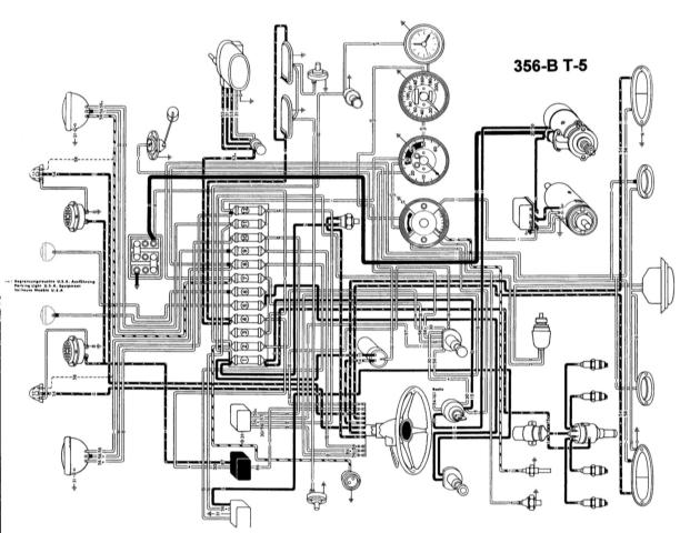 356 tach wiring 1957