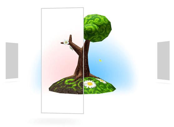 PARK.seasons démo avec PaperVision3D