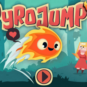 Pyro Jump Screen Title