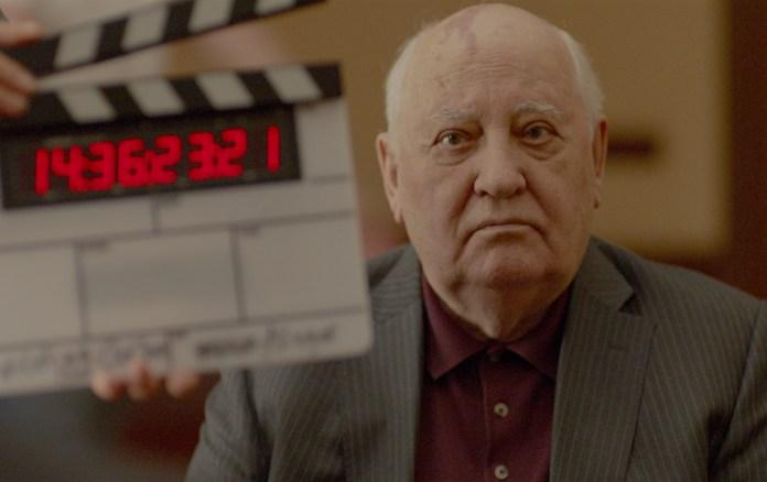 Meeting Gorbachev. Il regista tedesco Werner Herzog intervista l'ex leader politico russo Mikhail Sergeevic Gorbachev.