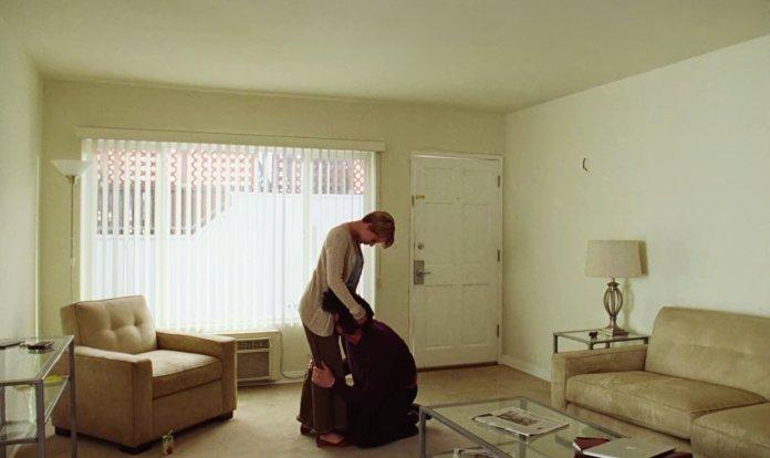 Adam Driver e Scarlett Johansson in una scena di Marriage Story - Storia di un matrimonio.
