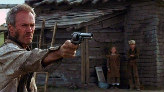 Unforgiven (Gli Spietati), il capolavoro western di Clint Eastwood che dedica ai suoi maestri di vita: Sergio Leone e Don Siegel.