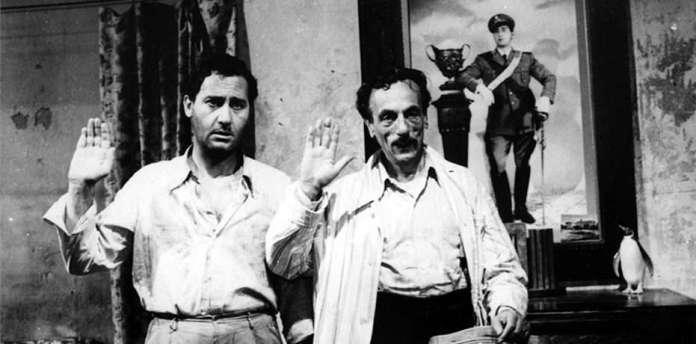 Tutti a casa, capolavoro del cinema di guerra del 1960 diretto da Luigi Comencini.
