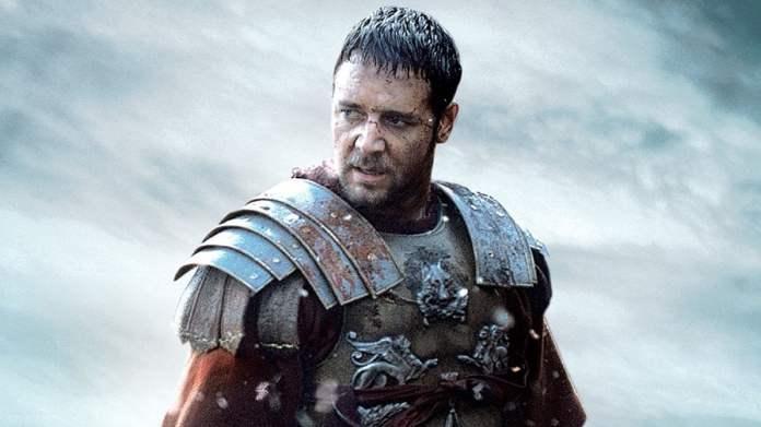russel crowe ne il gladiatore