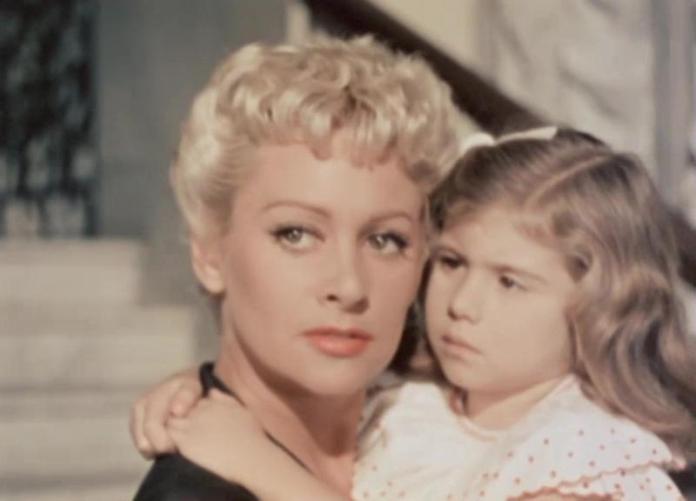 Marine Carol nel La spiaggia di Alberto Lattuada (1954)