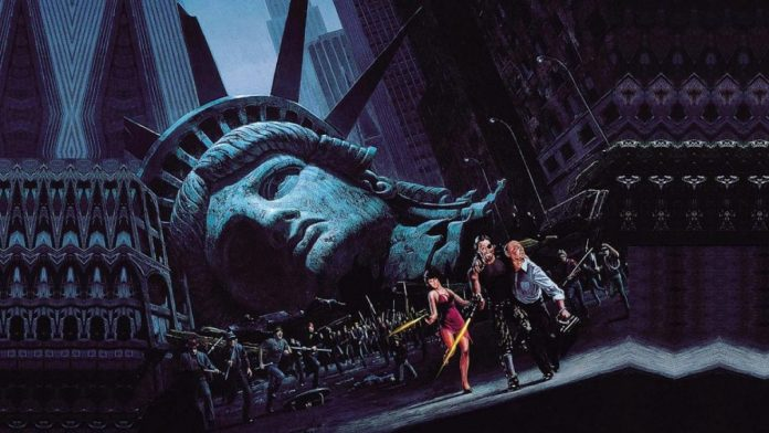 1997: Fuga da New York, diretto da John Carpenter e interpretato da Kurt Russell e Lee Van Cliff.