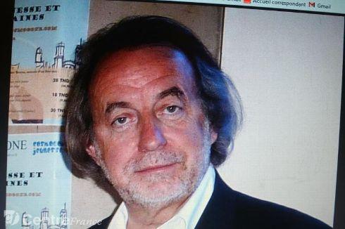 Jacques Bruyas de l'équipe fondatrice de l'association et président de l'Union des Ecrivains Rhône-Alpes - Schreier Bernard