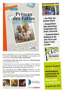 Affiche semaine littéraire Villefranche 2015
