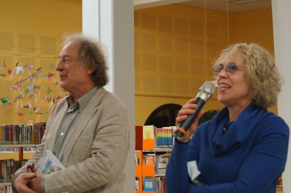 Christine Poirier à la Médiathèque de Villefranche