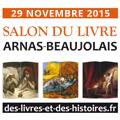 Délivrez des Histoires Salon du livre en région Arnas