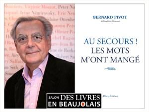 Bernard Pivot Parrain du salon Des Livres en Beaujolais