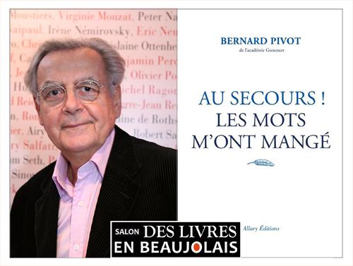 Bernard Pivot Parrain du 3e salon Des Livres en Beaujolais