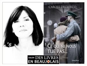 Carole Deslercq invitée du 3e salon Des Livres en Beaujolais
