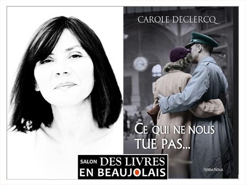 Carole Declercq invitée du 3e salon Des Livres en Beaujolais
