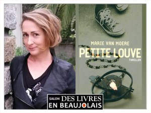 Marie Van Moere invitée du 3e salon Des Livres en Beaujolais