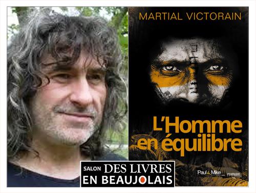 Martial Victorain invité du 3e salon Des Livres en Beaujolais