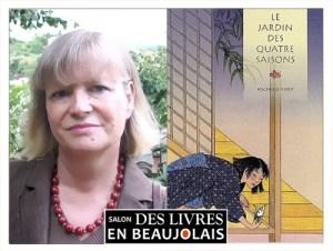 Michelle Nikly invitée du 3e salon Des Livres en Beaujolais