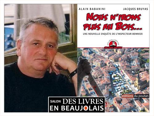 Alain Babanini invité du 3e salon Des Livres en Beaujolais