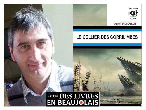 Alain Blondelon invité du 3e salon Des Livres en Beaujolais